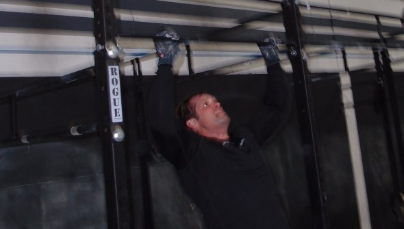 Kent - Focusing on the last few reps.