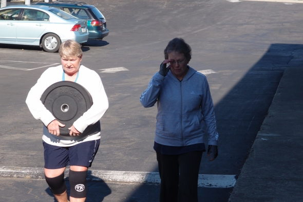 Shelli and Candy are CrossFit!  These two exemplify community camaraderie hard work dedication and perseverance.  They overcome obstacles to their performance and continue forward.  I thank you both, You inspire me!