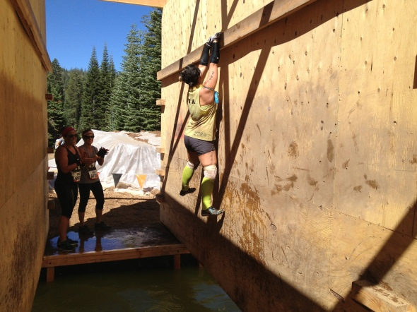 "Maryam on ""just the tip"" Tough Mudder"